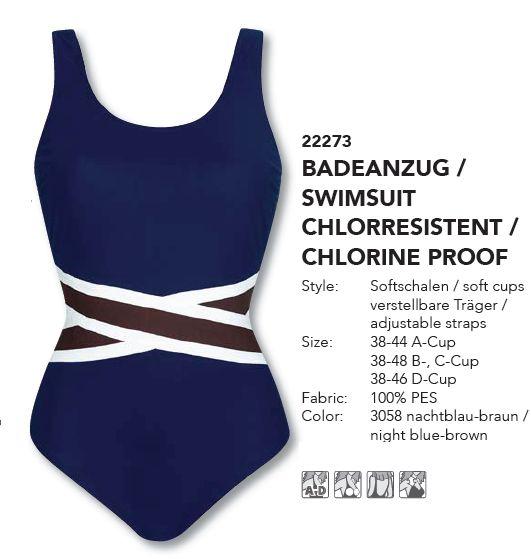 Sunflair costumi bagno interi piscina paisly marina 22273 piscina costumi bagno interi - Costumi da piscina ...