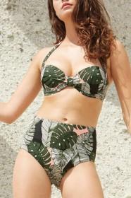 Gisela bikini Foglie imbottito 3-3155.2