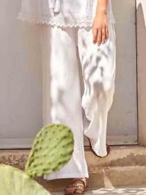 Prezzo Sport David costumi Procida pantalone DB21-012-bianco